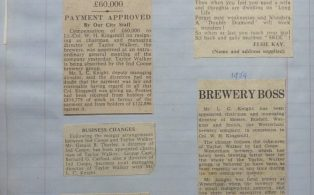 Brewery news extracts from The Times 5 June 1959