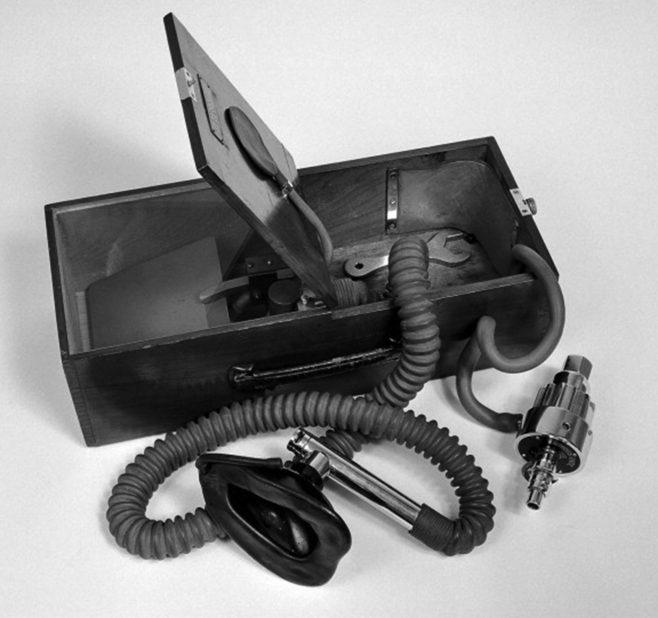 Minnitt Gas and Air Apparatus