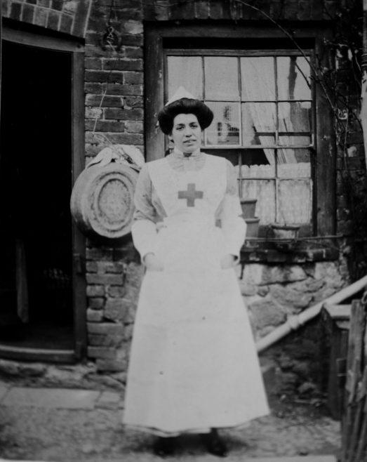 Maude Finch Red Cross Uniform