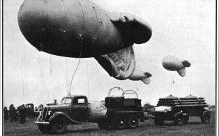 Barrage Balloon transport
