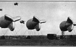 Barrage Balloon launch