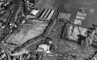 Westerham's Buffer Depot beside the railway