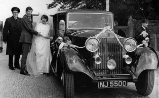 Joe Rolls Royce Wedding