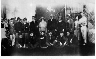 WADS 1921 the cast of 'Beauty and the Barge'