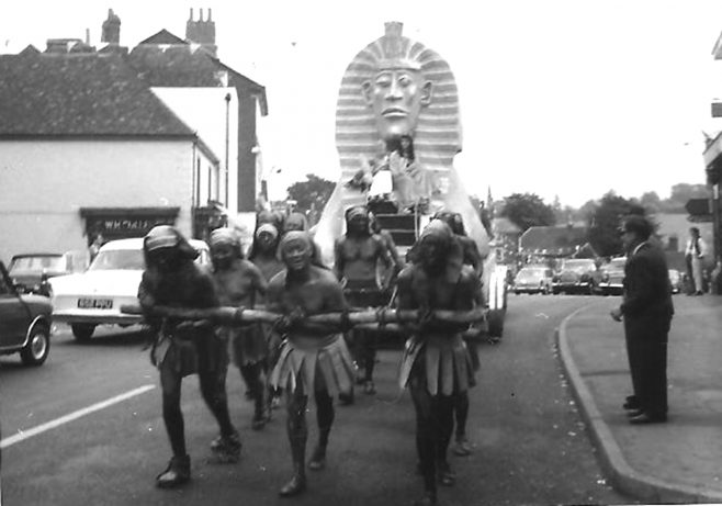 Gala Day Paynesfield Road Gang entry