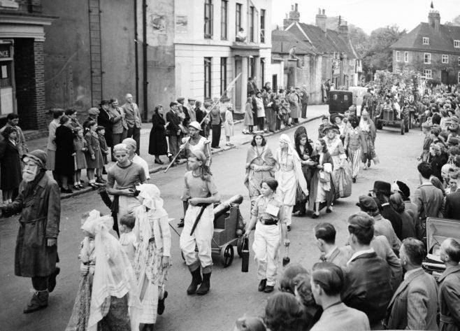 Gala procession