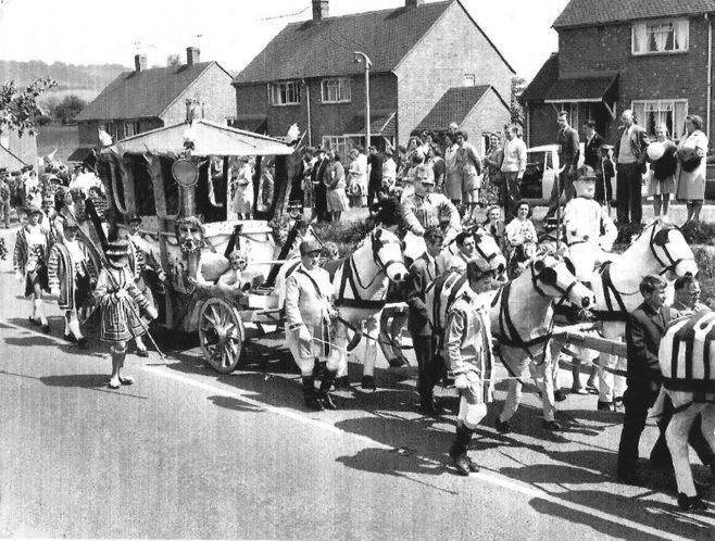 Gala procession London Road