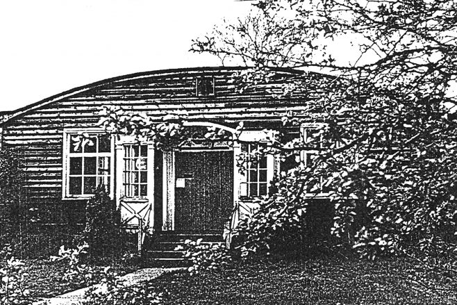 Womens Institute Hut Front