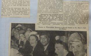 Westerham Brewery Annual Dinner 1954