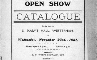 Westerham Fanciers Association Catalogue
