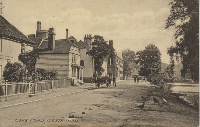 Long Pond, West of High Street including General Wolf Pub