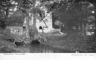Old Elm View Mill on Mill Lane at Round Pond