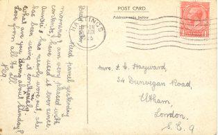 Little Mill Postcard Reverse
