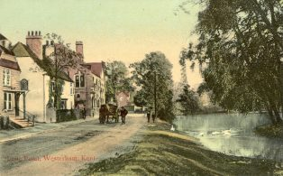 Long Pond, West of High Street including Brewery & General Wolfe Pub