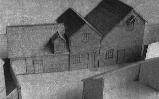 Model of Darenth Mill by R. Combley