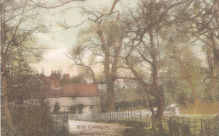 Mill Cottages looking from Elm View Mill