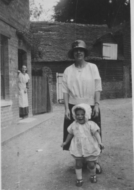 Mill Street Lady and Infant