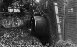 Darenth mill waterwheel