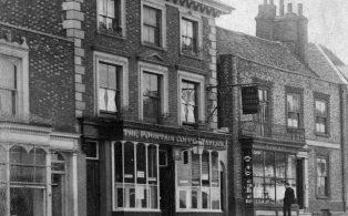 The Fountain Coffee Tavern & Temperance Hotel 1900