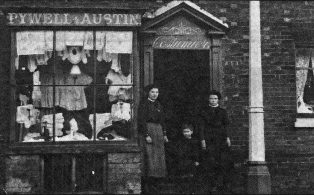Pywell & Austin costumiers on the Green circa 1910
