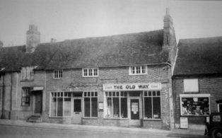 The Old Way cafe, High Street 1960s