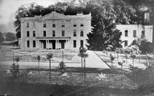Hill Park at Valence circa 1875