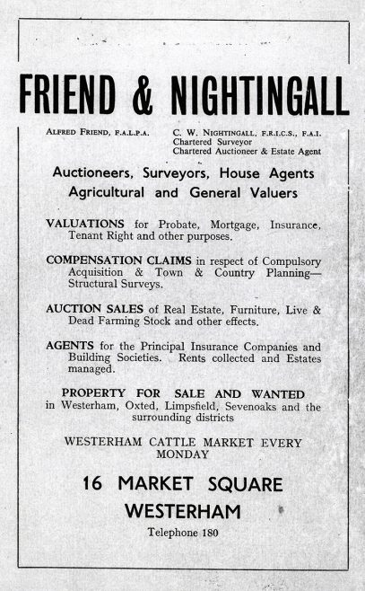Local Market Auctioneers in the 1950s