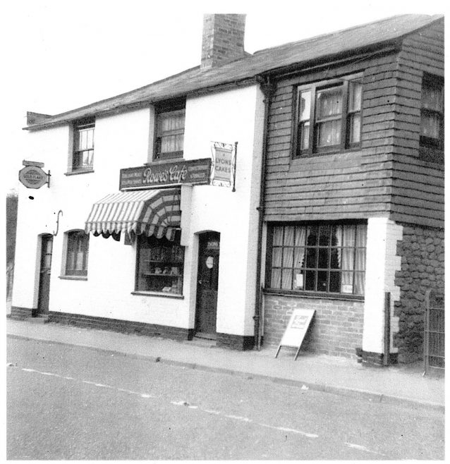 English's cafe and sweet shop