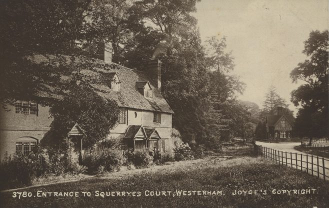 On the south side of the Limpsfield Road are a row of four cottages of great antiquity sitting across the corner of the junction where the Squerryes Park Road meets the Limpsfield Road.