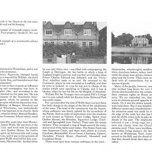 Westerham Town Guide 1970's