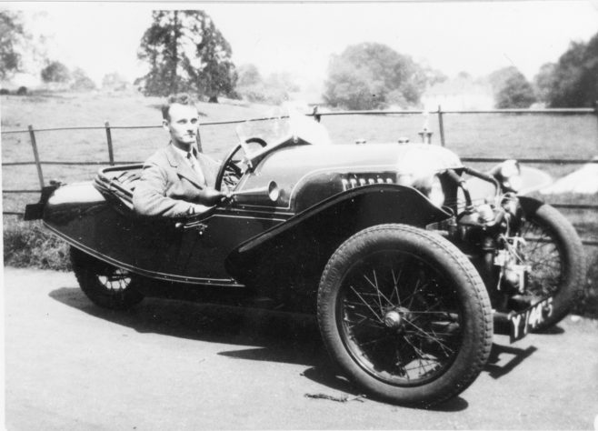He retained the Aero Morgan for some years, but once again, added to his stable in 1931 with the purchase of a second-hand Austin Seven for the rainy days and travelling with friends - with room for only one passenger, it could be a tad lonely in the Aero Morgan, even if it was fun to drive…