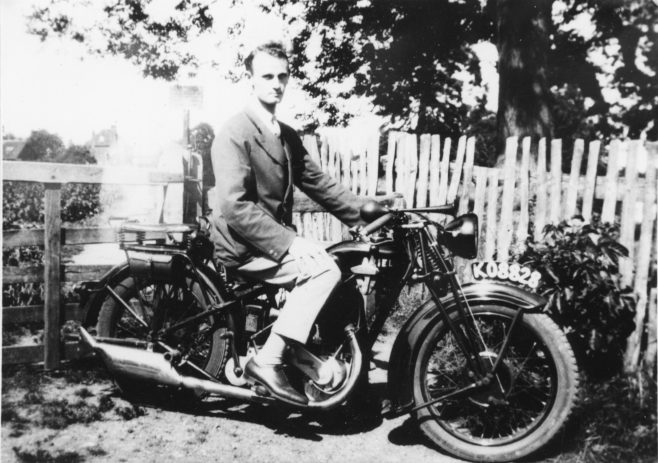 By 1928, as many motorcyclists do, he added to his 'stable' in the form of a second-hand 350cc Ariel which he bought for £40, but that was only a stepping stone. In June 1929 at the Sevenoaks dealership of Mr. S. Wells, John had seen an Aero-Morgan three wheel sports car for sale for the princely sum of £75...