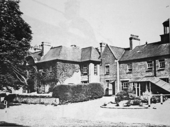 During the Second World War, the older children were evacuated to Davenport House in Shropshire, while the babies were transferred to Farncote House, Wolverhampton. After the war the Clacton Orphanage remained closed. The babies were transferred to Cudham Hall, near Sevenoaks, and the older children took up residence in Pilgrim House, Westerham, recently purchased from the Woolwich Building Society who had had their wartime offices there. The buildings were converted into dormitories, kitchens, day-rooms and staff-quarters.The girls walked to Westerham each weekday for schooling at Saint Mary's Junior and Westerham County Secondary Schools. They walked a total of eight miles each day, in four trips, as they returned to Pilgrim House for lunch!