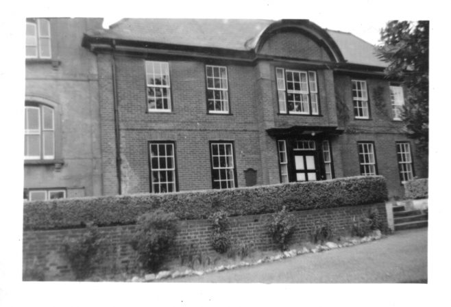 I was contacted out of the blue by one of the former 'Groom girls', Doreen Tomlin, now in her seventies. Doreen had contacted Westerham Library to see if they had any information on the John Groom home she could show to her grandchildren. The librarian gave her my telephone number, as I have always been happy for library staff to do so. Doreen rang me and explained what she was trying to find, and we had a long chat about her years and memories of Pilgrim House. I said I would dig out what I had, and post it to her.  In return, Doreen wrote the following account of those years just after the war: 'Life in Pilgrim House on the whole was quite good. We were well fed and clothed and the house was always warm in the winter. The staff were quite strict, but they had to be because we all came from different backgrounds, though some staff were more understanding than others! Christmas was always lovely and we all had stockings at the end of our beds. We would find nuts, an orange, a chocolate bar, hair clips, ribbons, pencils and rubbers and we would all receive a main present plus some were lucky enough to have presents sent in. Our Christmas party was great fun and it was after the party that we were given our main presents, then we would watch films like Mr Pastry, Old Mother Riley and Laurel and Hardy. In the summer months we would all do a lot of scrumping for apples, pears, plums and strawberries but we knew if we got caught we would be in real trouble! During the Biggin Hill Air display some of us would go across the fields to Allen Orchards and get as many Victoria plums as we could carrythen we would find a haystack with a ladder and climb to the top and sit and watch the planes going over whilst eating our plums… but guess who always had a tummy ache the next day !!